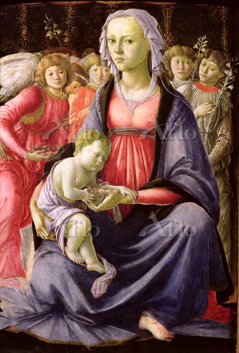 ボッティチェリ 「聖母子」
