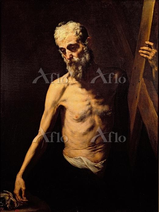 ホセ・デ・リベラ 「十字架を担う聖アンデレ」