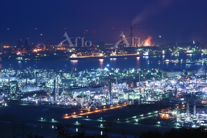 岡山県 水島コンビナート