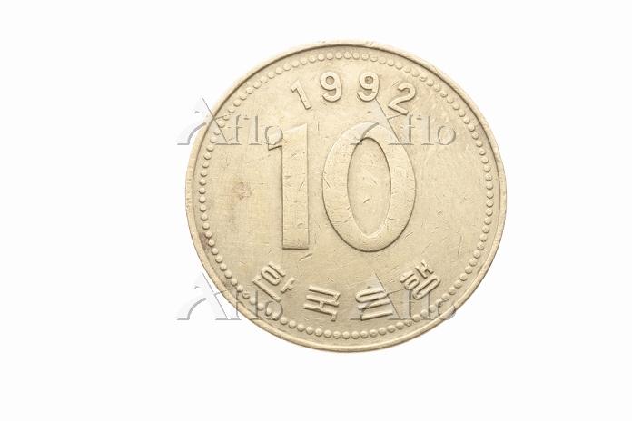韓国10ウォン 表
