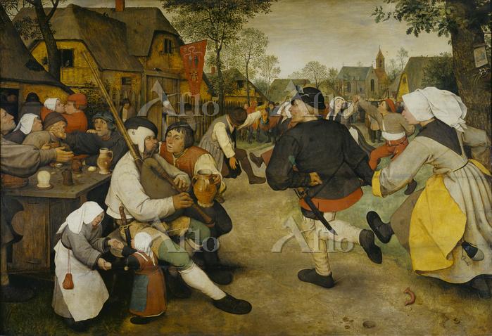 ピーテル・ブリューゲル1世「農民の踊り」