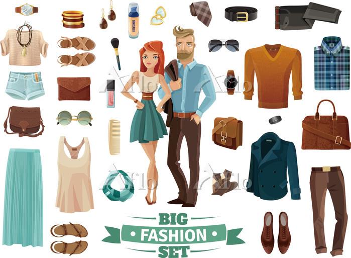 Big Fashion Set. Big male and ・・・