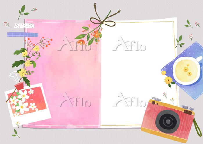 Vector - A card template, fram・・・