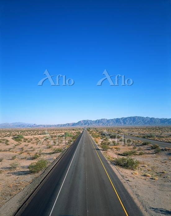 アメリカ・アリゾナ キングマン近郊 インターステート40号線