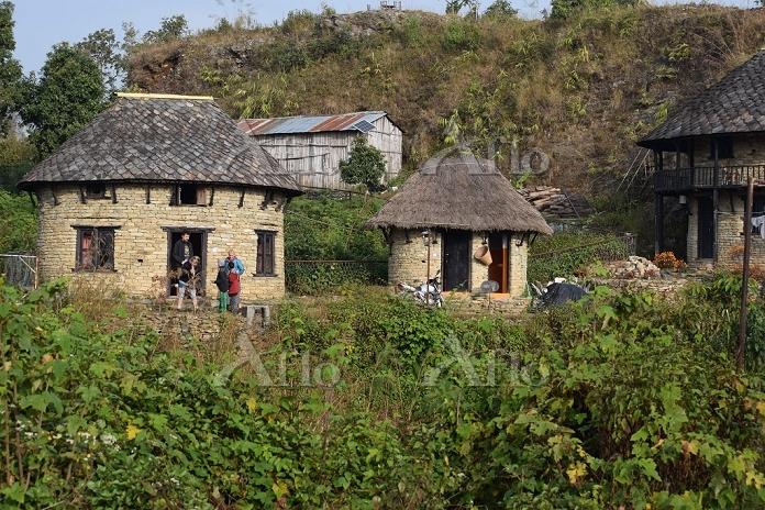 ネパール ロッジ