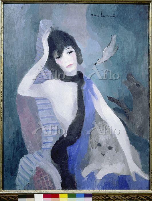マリー・ローランサン「ココ・シャネルの肖像」
