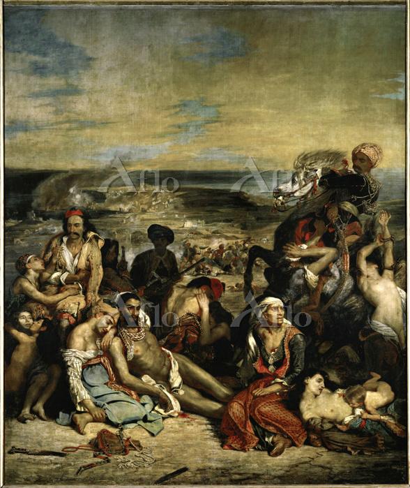 ドラクロワ「キオス島の虐殺」