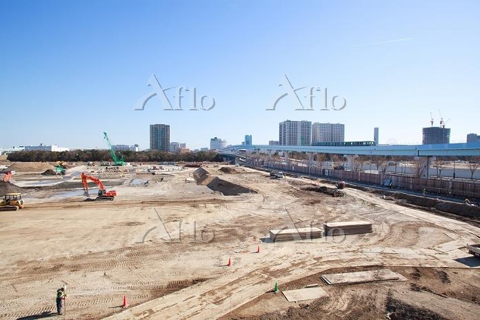 東京都 建設中の豊洲新市場
