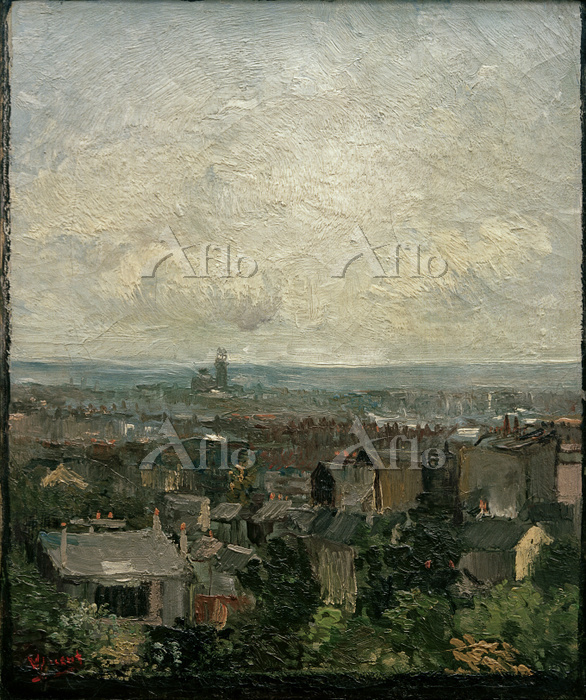 ゴッホ「パリの屋根」