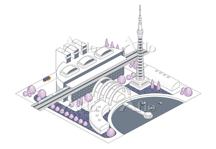 ブロックタウン未来都市 B-8