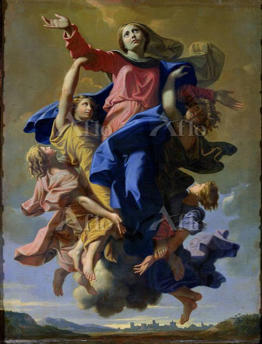 ニコラ・プッサン 「聖母被昇天」