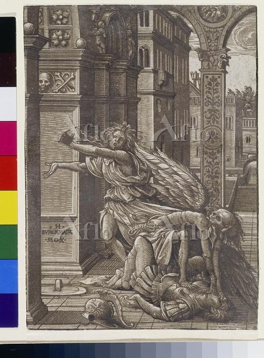 Artist:  Burgkmair d.A., Hans,・・・