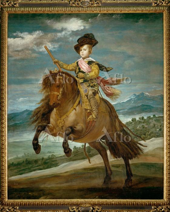 ベラスケス 「王太子バルタサール・カルロス騎馬像」