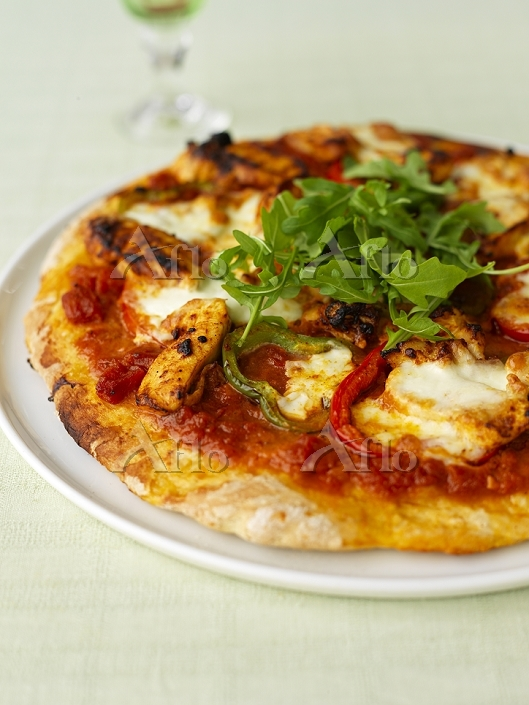 Spicy Fajita pizza - recipe