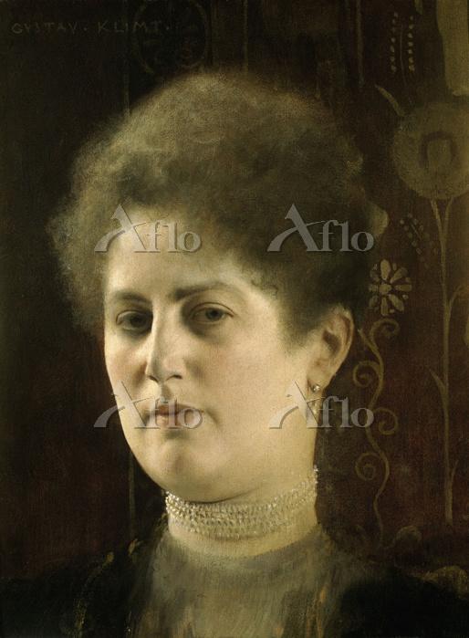 クリムト 「婦人の肖像」