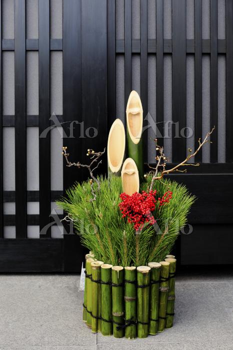 京都府 正月飾り 門松