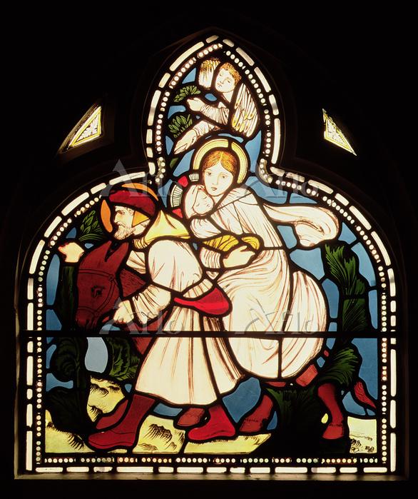 イギリス 聖ミカエル及諸天使教会 エドワード・バーン=ジョー・・・
