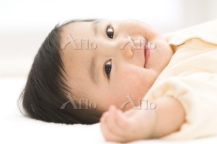 7ヵ月の日本人の赤ちゃん