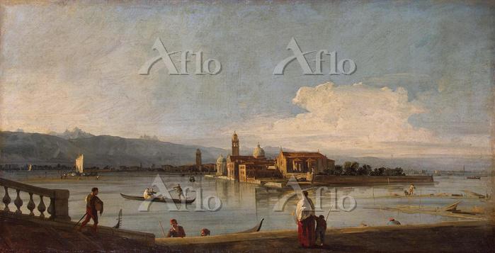 カナレット 「ヴェネツィアのフォンダメンタ・ヌオーヴェから見・・・