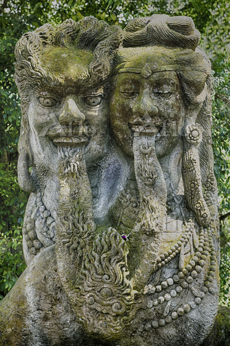 Sacred Monkey Forest, Statue, ・・・
