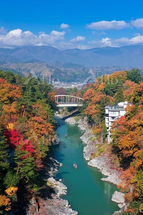 長野県 天竜峡舟下り