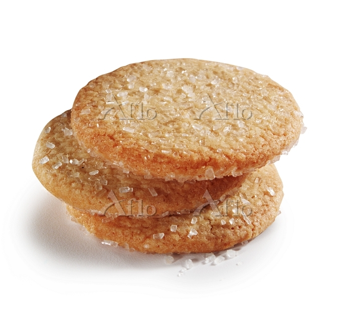 Sugared biscuits