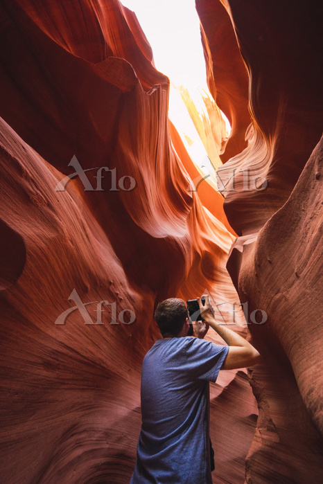 USA, Arizona, Lower Antilope C・・・