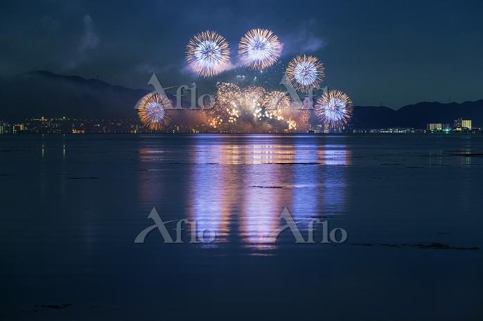 滋賀県 2015びわ湖大花火大会