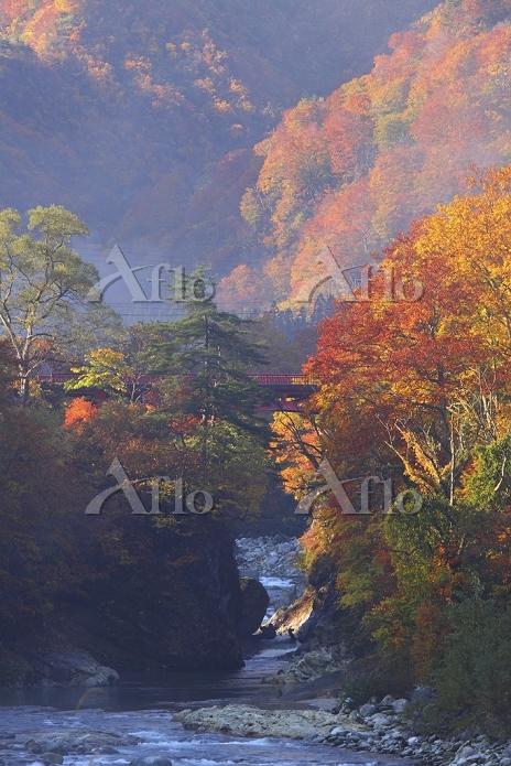 山形県 飯豊山麓・玉川渓谷と紅葉