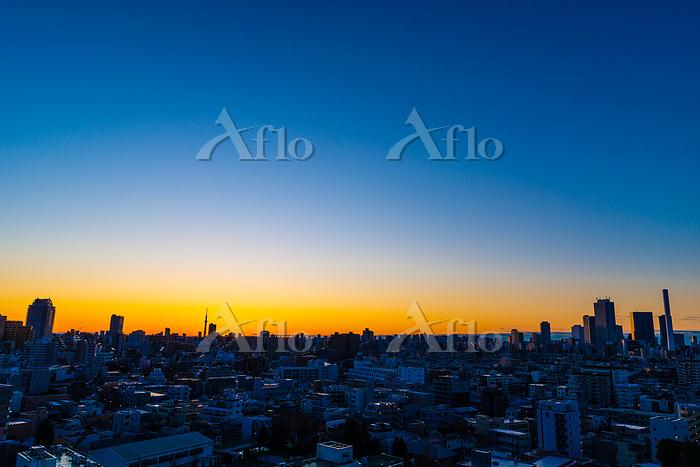 東京の日の出 2020初日の出