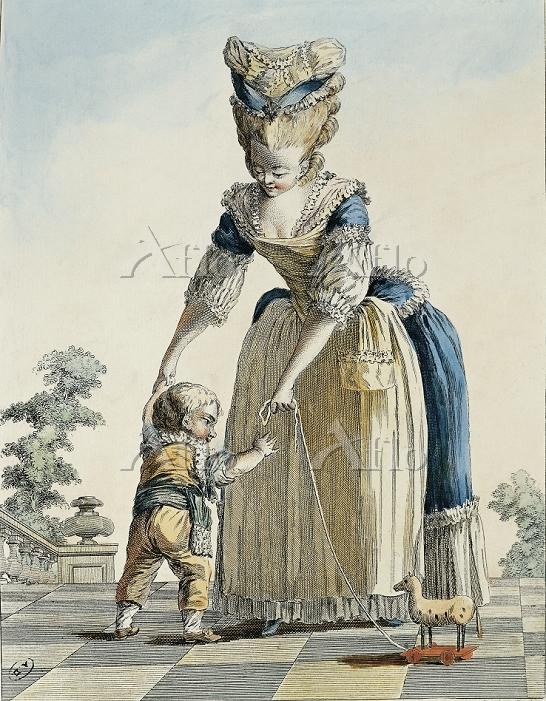 Fashion, France, 18th century.・・・