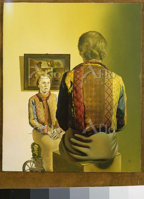 サルバドール・ダリ 「ガラの肖像」