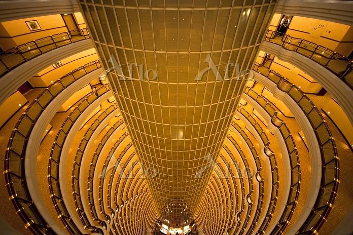 上海 ジンマオタワー内部
