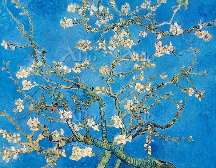 ゴッホ 「花咲くアーモンドの枝」