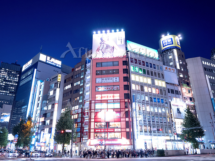 東京都 西新宿1丁目交差点