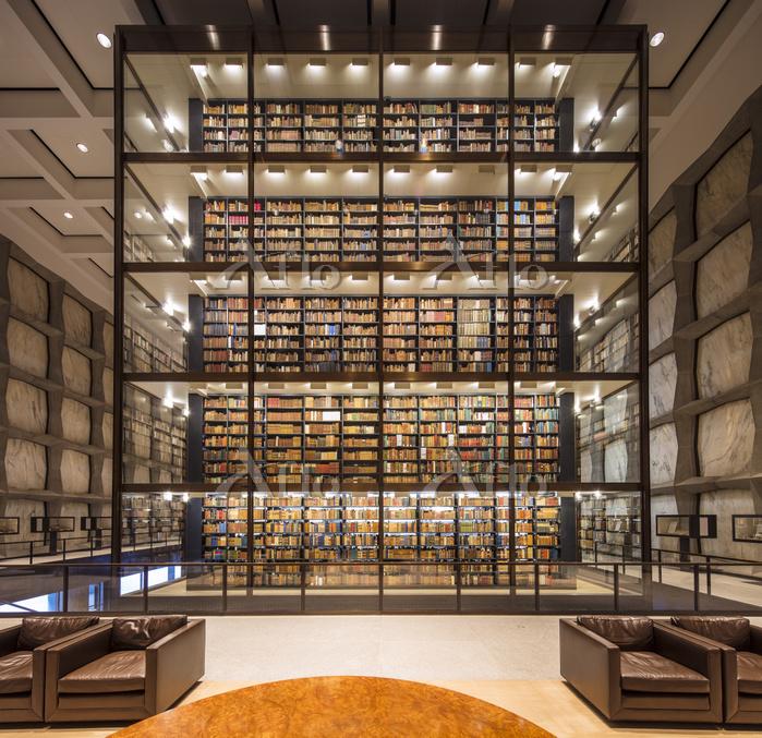 アメリカ コネチカット州 イエール大学 図書館