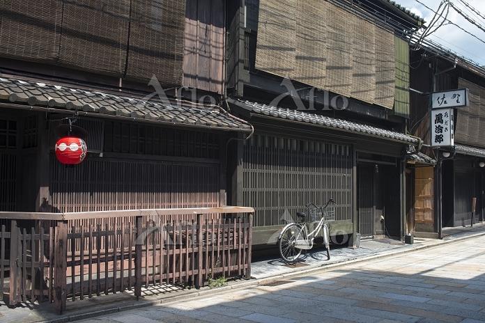 京都府 祇園新橋通りの京町屋