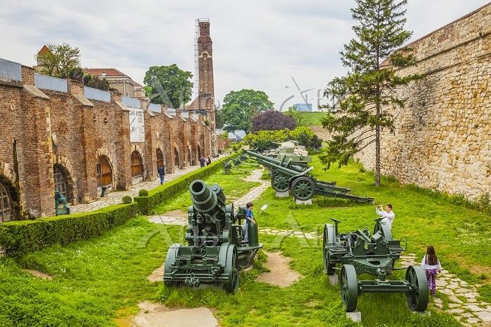 セルビア ベオグラード カレメグダン公園 軍事博物館