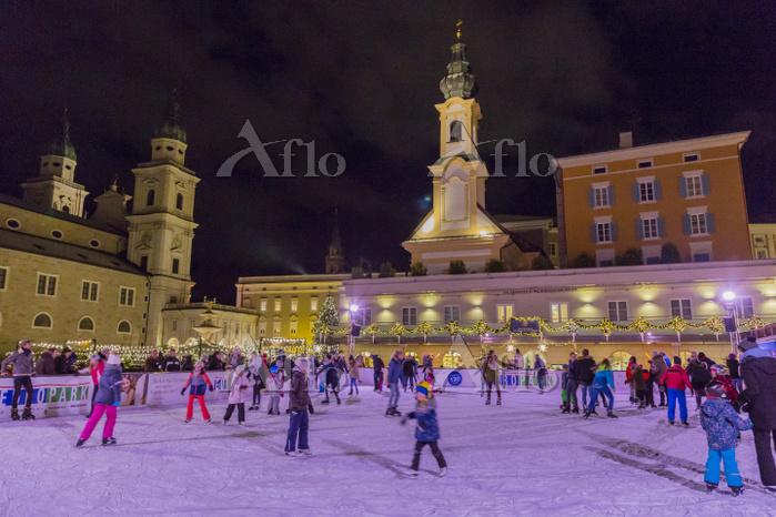 オーストリア ザルツブルクのクリスマス