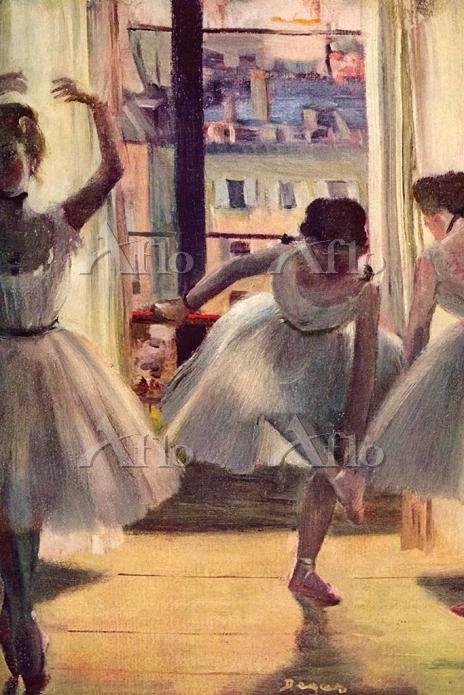 ドガ 「三人の踊り子」