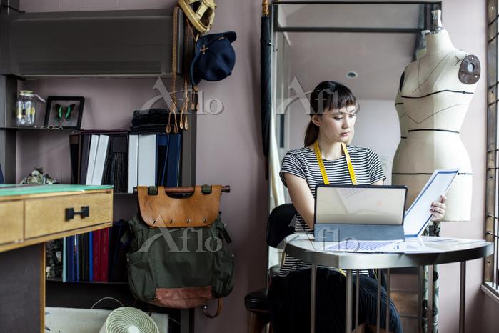 Japanese female fashion design・・・