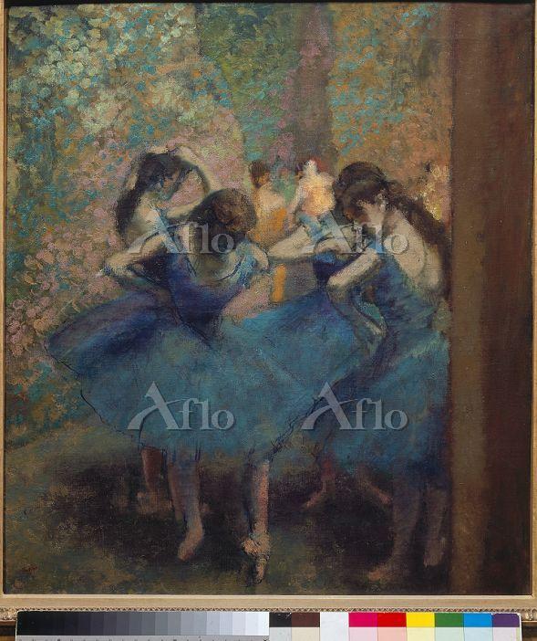 ドガ 「青い踊り子たち」