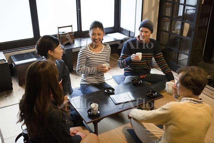 日本人女性と外国人