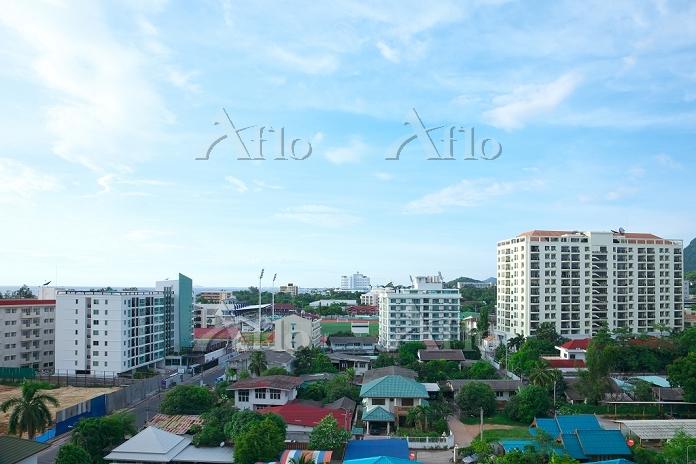 タイ王国 シラチャの街並