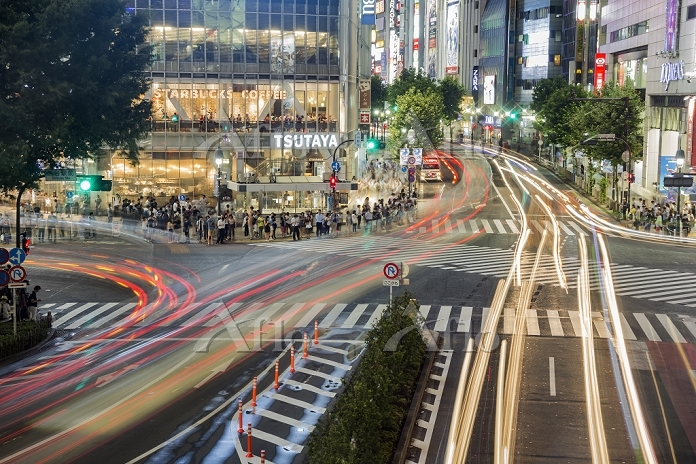 東京都 渋谷区 スクランブル交差点
