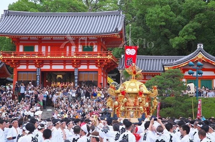 京都府 祇園祭の神幸祭