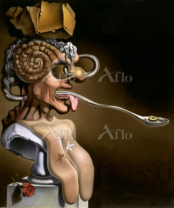 サルバドール・ダリ 「ピカソの肖像」