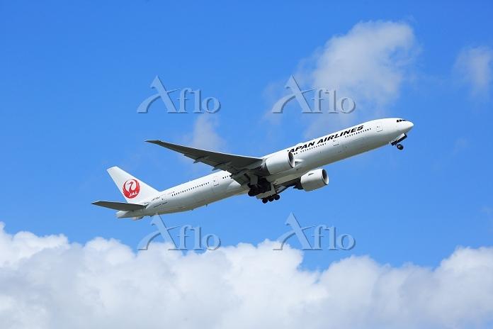 千葉県 ジェット旅客機 日本航空 B777