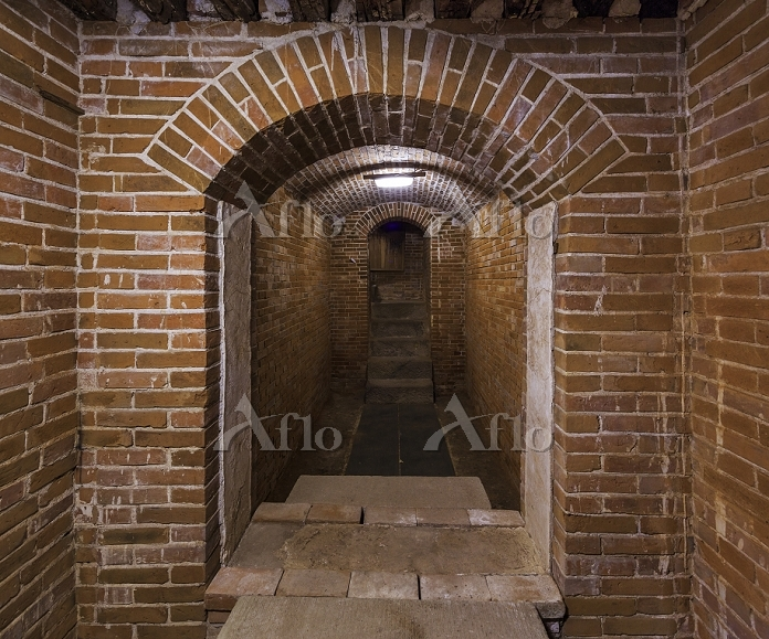 群馬県 富岡製糸場 ブリュナ館の地下室