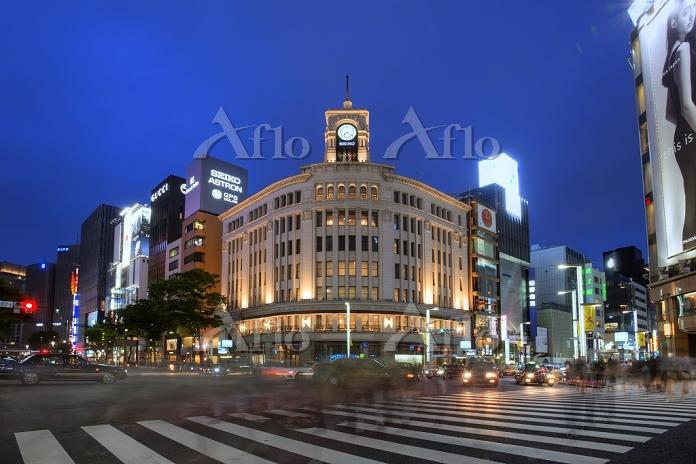 東京都 銀座夜景